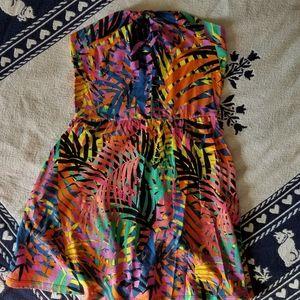 Fun retro style Strapless dress